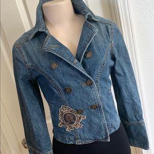 Vintage Style Express Jean Jacket